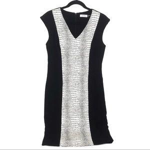 Calvin Klein   Women's Color Block Sheath Dress